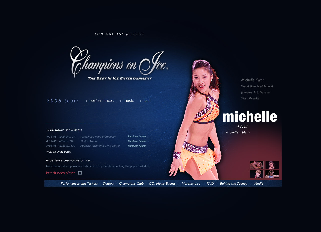 champions on ice home page