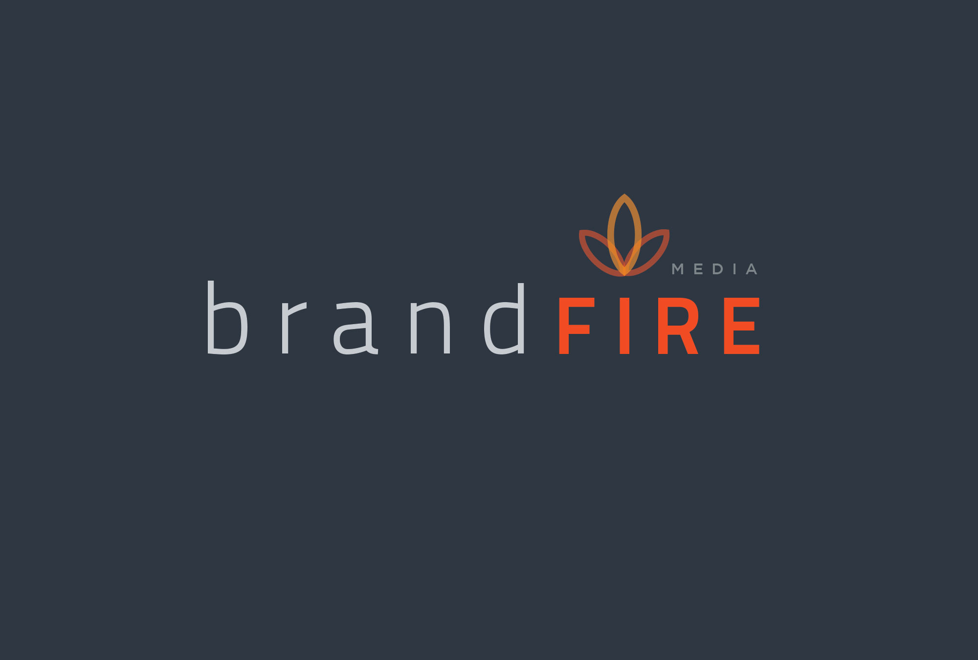 brandfire logo on dark